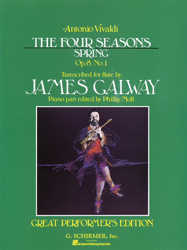 Spring from The Four Seasons, Op. 8, No. 1 (Flute and Piano)