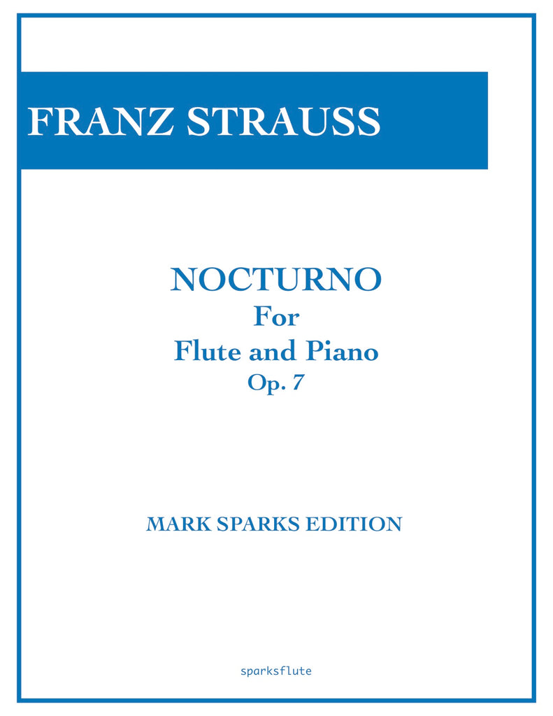 Nocturno Op. 7 (Flute and Piano)