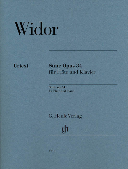 Suite, Op. 34 No. 1 (Flute and Piano)