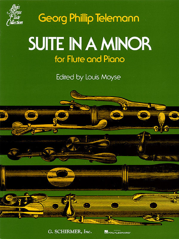 Suite in A Minor (Flute Alone)