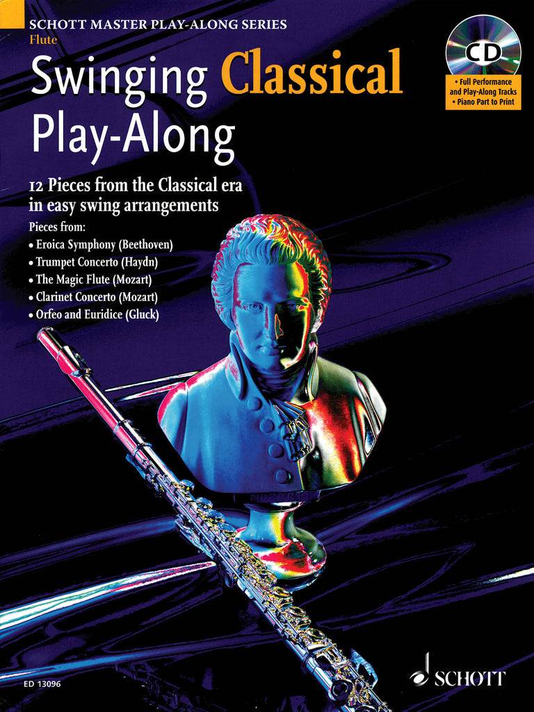Swinging Classical Play-Along - 12 Pieces from the Classical Era in Easy Swing Arrangements