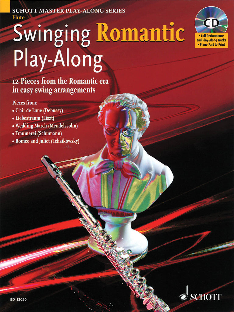 Swinging Romantic Play-Along - 12 Pieces from the Romantic Era in Easy Swing Arrangements