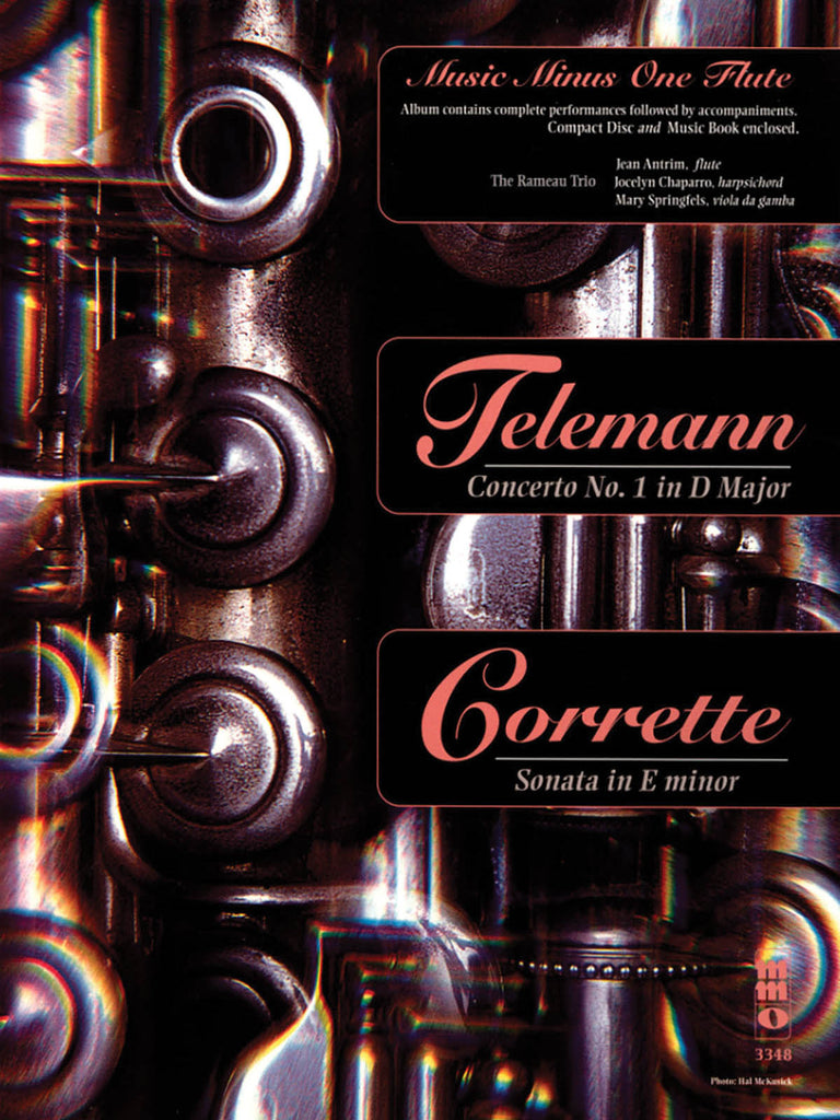 Concerto No. 1 in D Major (Telemann); Sonata in E minor (Corrette) (Flute and Piano)