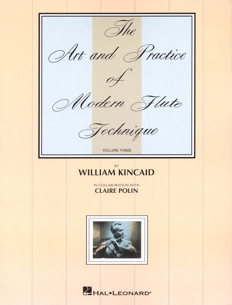 The Art and Practice of Modern Technique for Flute, Vol. 3