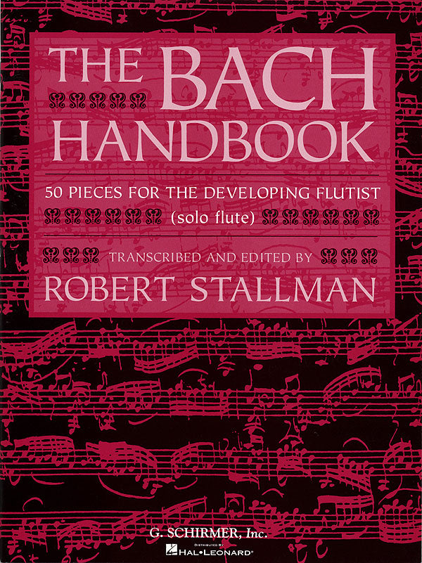 The Bach Handbook (Flute and Piano)