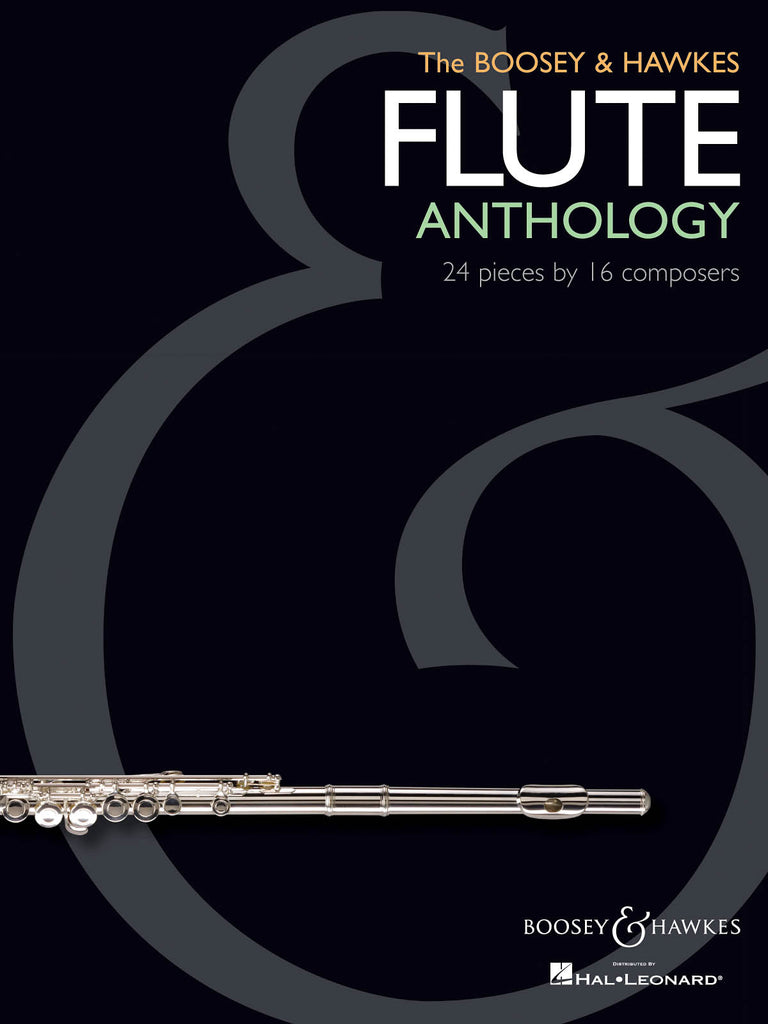 The Boosey & Hawkes Flute Anthology - 24 Pieces by 16 Composers (Flute and Piano)