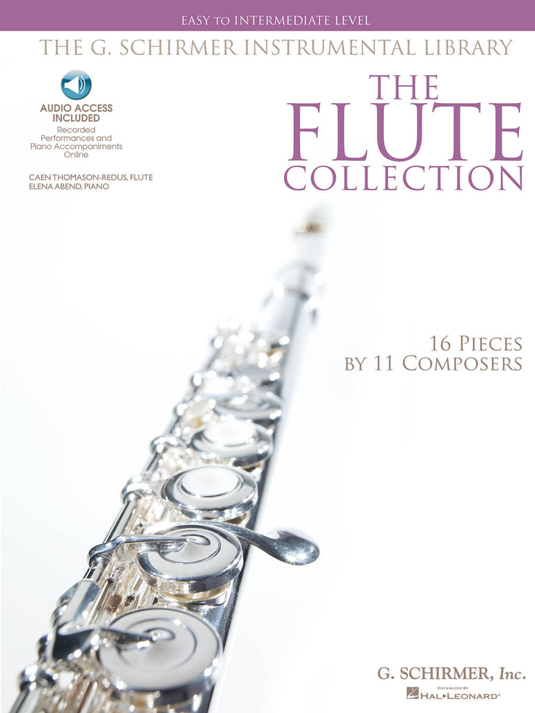 The Flute Collection – Easy to Intermediate Level (Flute and Piano)
