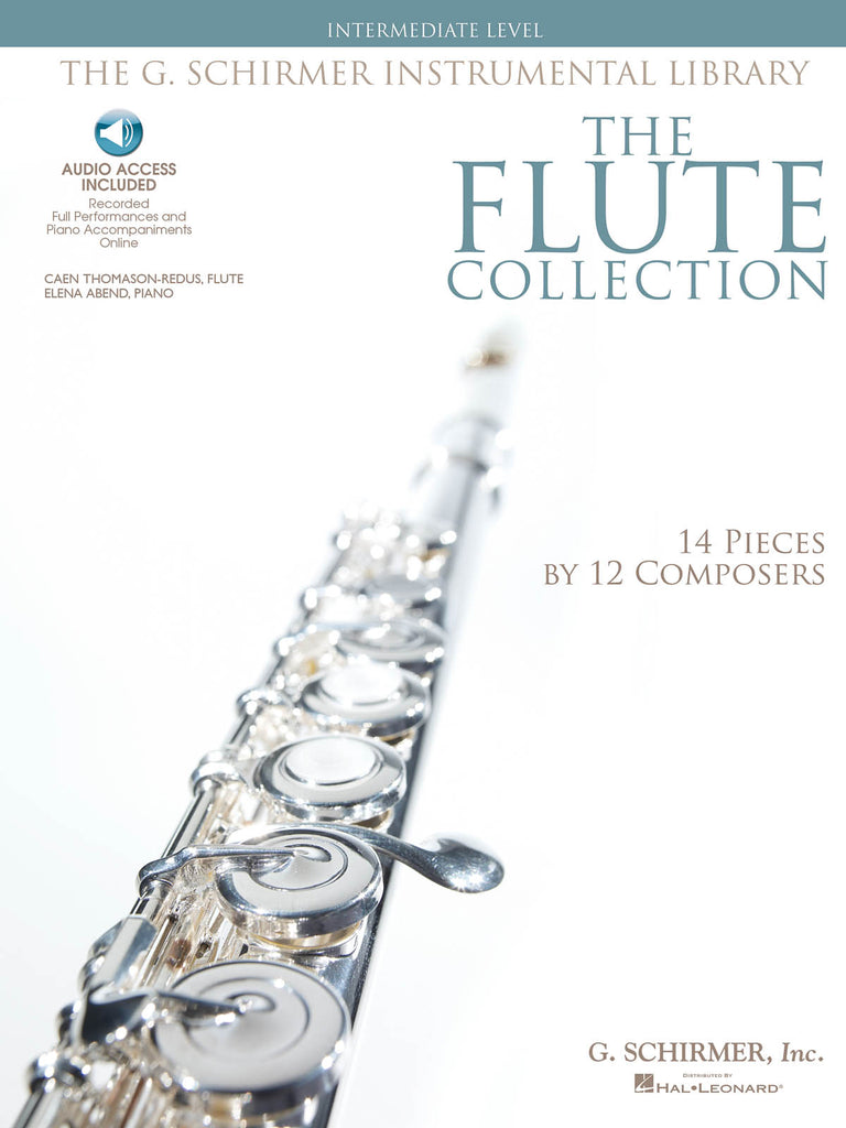 The Flute Collection – Intermediate Level, Schirmer Instrumental Library (Flute and Piano)