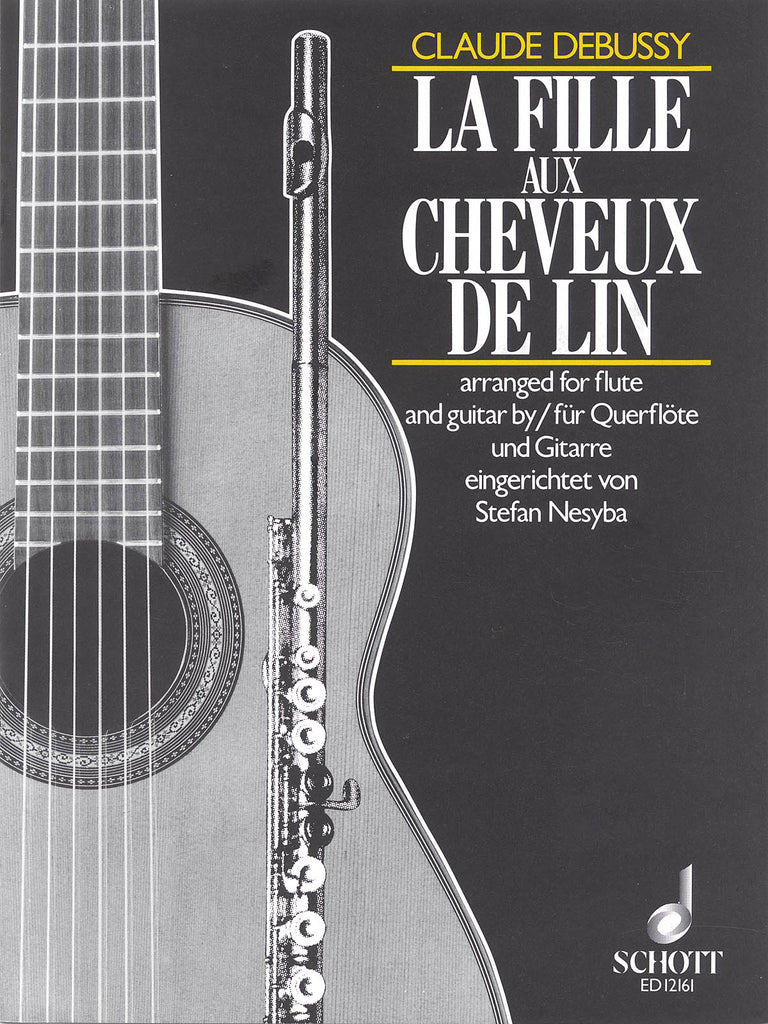 The Girl with the Flaxen Hair (La fille aux cheveux de lin) (Flute and Guitar)