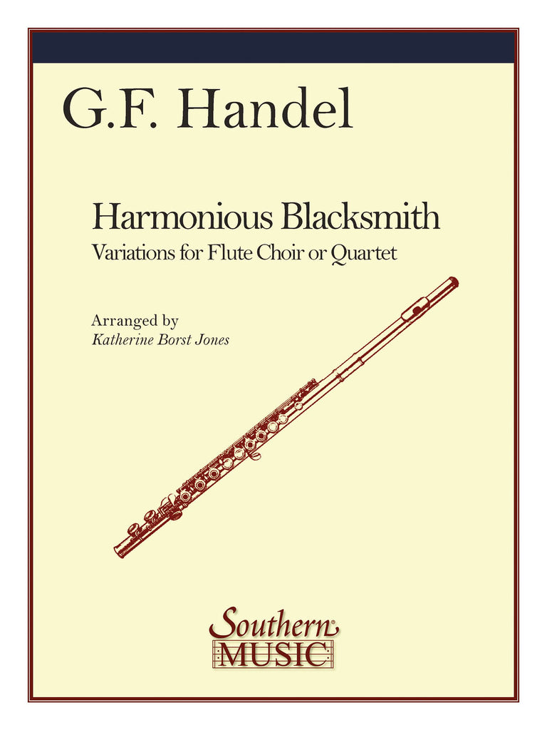 The Harmonious Blacksmith (Four Flutes)