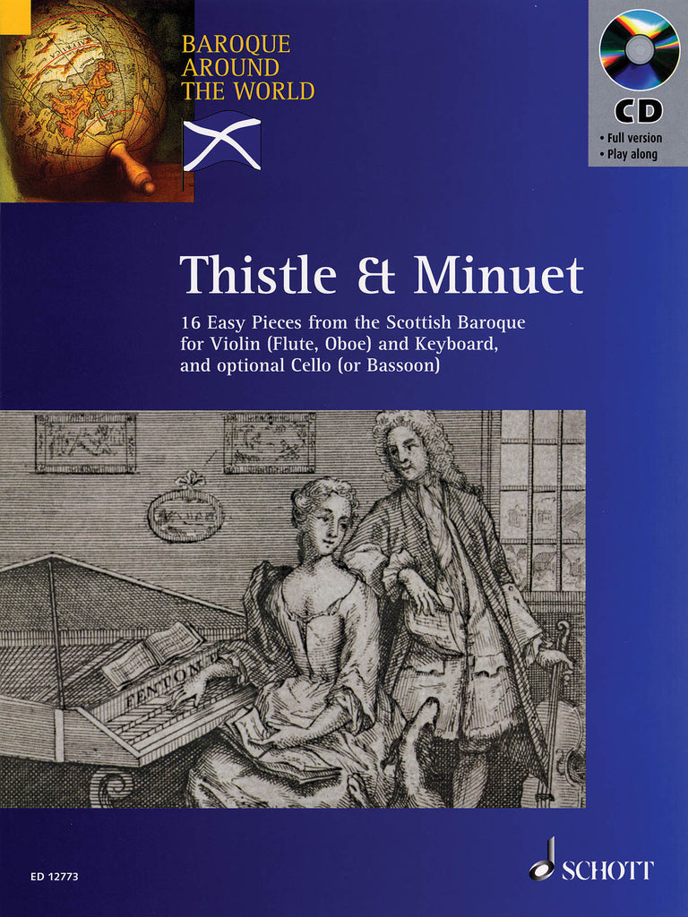 Thistle & Minuet - 16 Easy Pieces from Scottish Baroque