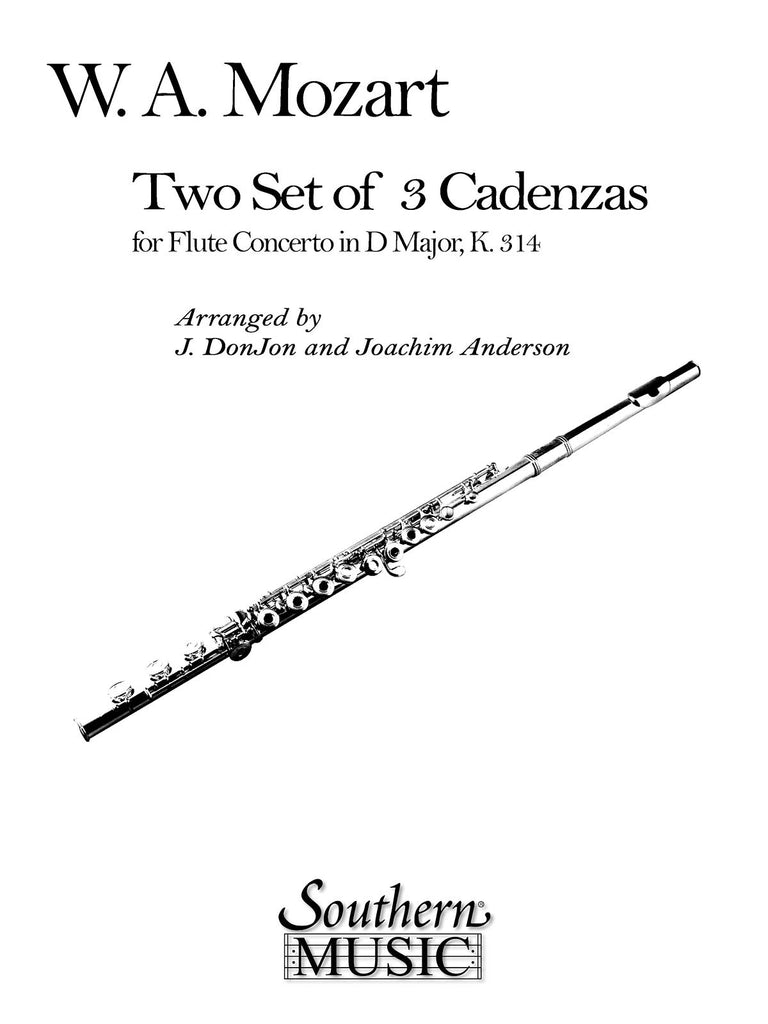 Three Cadenzas in D Major for Mozart's Flute Concerto
