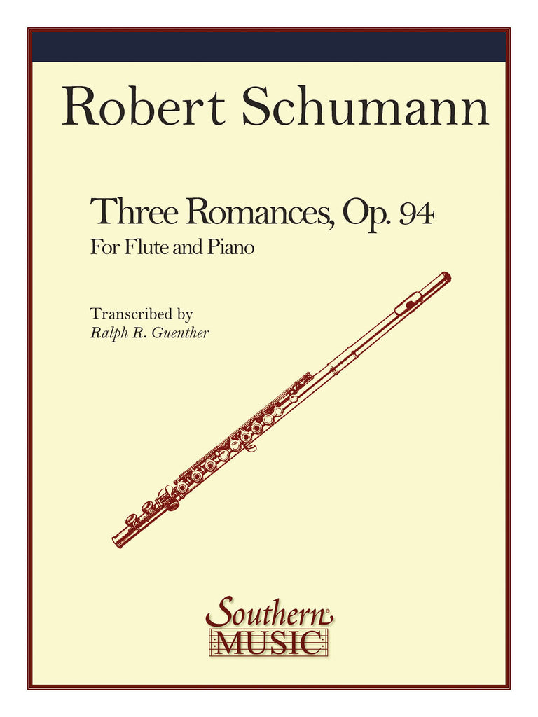 3 Romances (Flute and Piano)