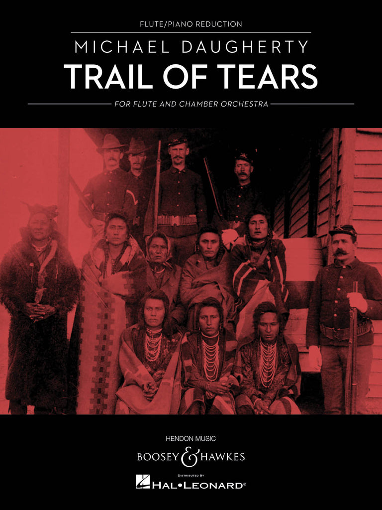 Trail of Tears for Flute and Chamber Orchestra (Flute and Piano)