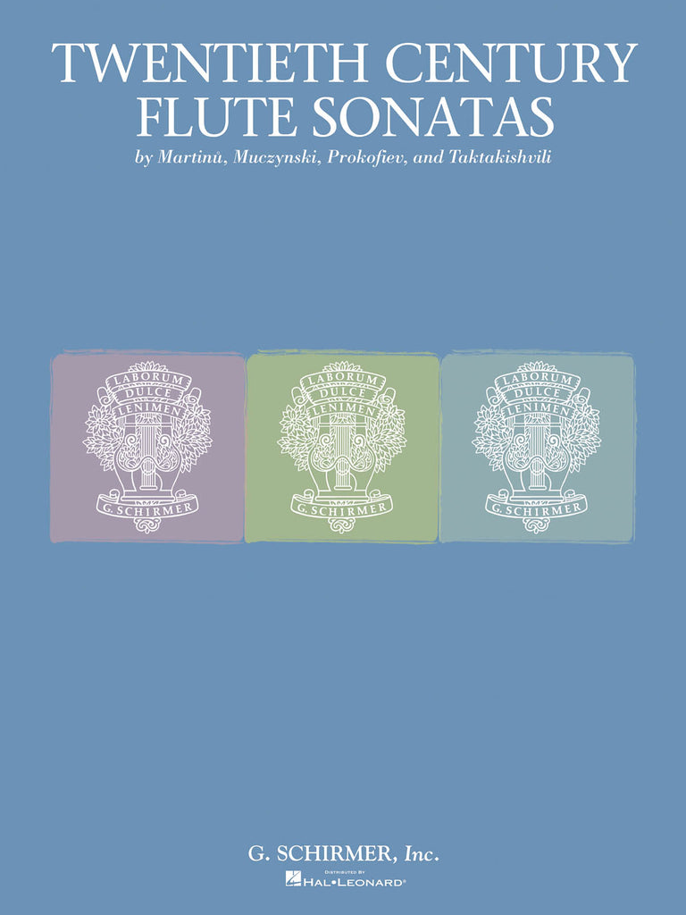Twentieth Century Flute Sonata Collection (Flute and Piano)