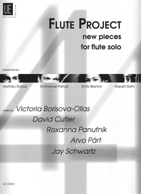Flute Project - New Pieces (Flute Alone)