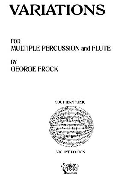 Variations (Flute and Percussion)