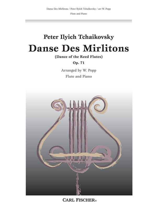 Danse Des Mirlitons, Opus 71 (Flute and Piano)