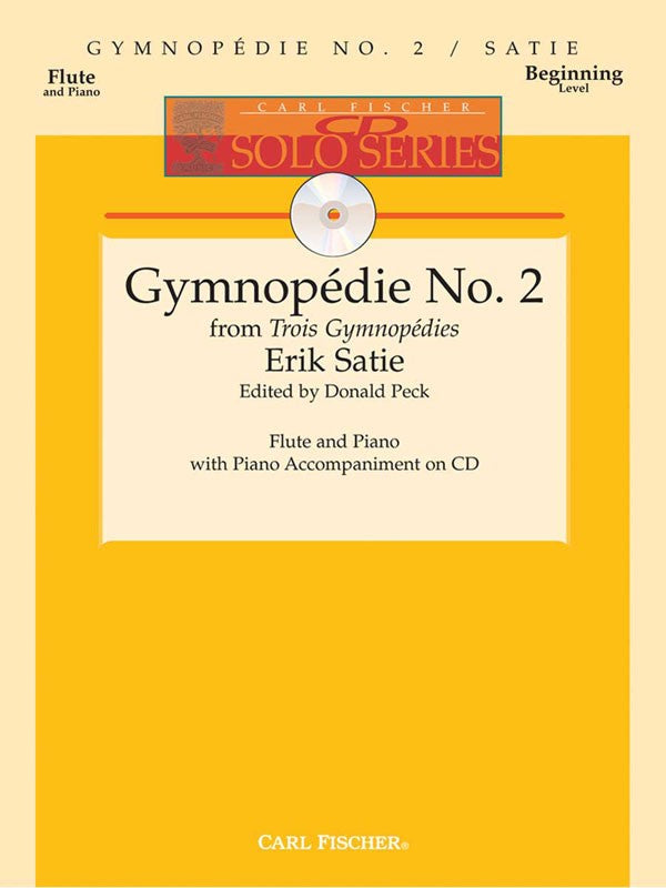 Gymnopedie No.2 (Flute and Piano)