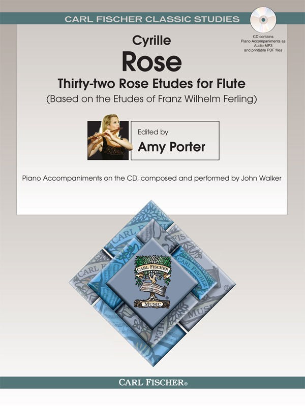 Thirty-Two Rose Etudes for Flute
