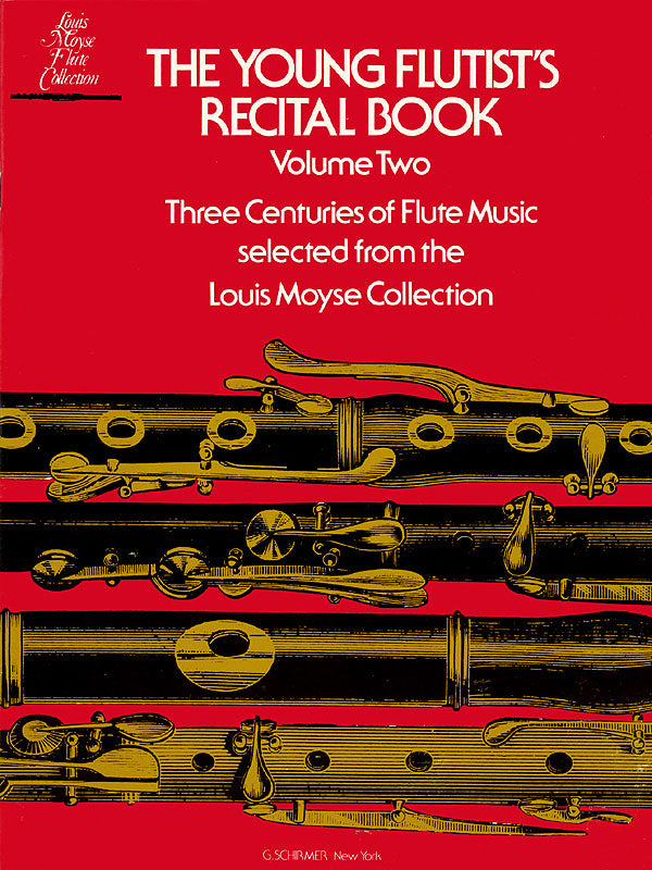 Young Flutist's Recital Book – Volume 2 (Flute and Piano)