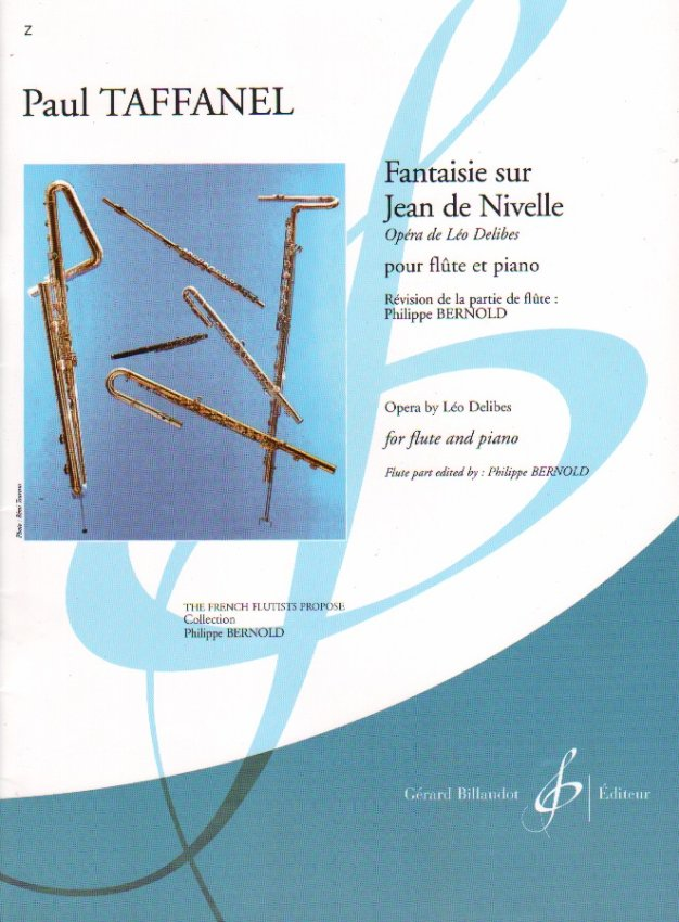 Fantaisie Sur Jean De Nivelle (Flute and Piano)