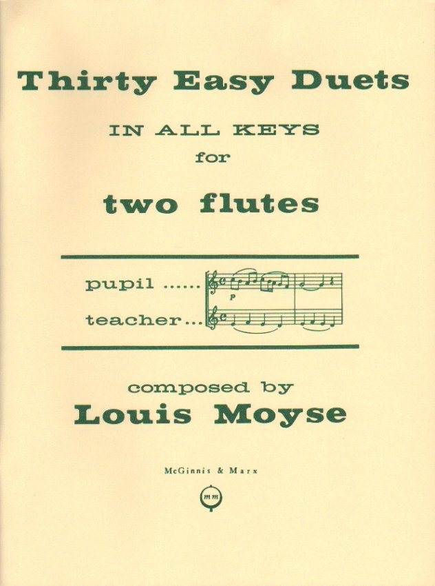 30 Easy Duets in all Keys (Two Flutes)
