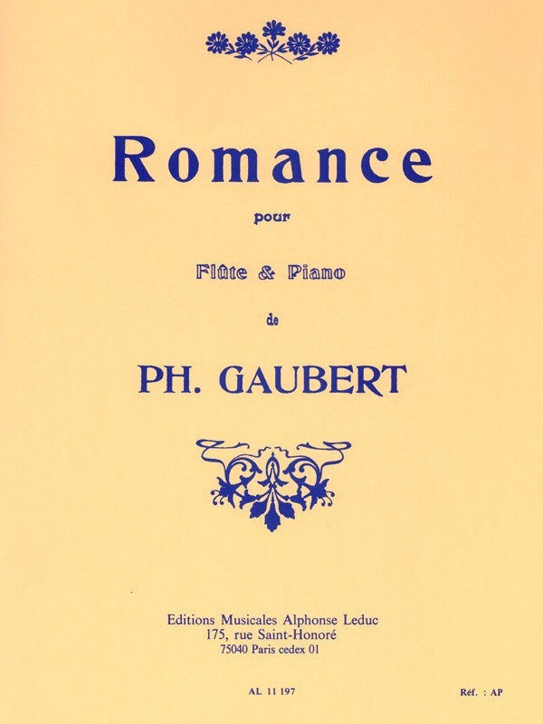 Romance (Flute and Piano)