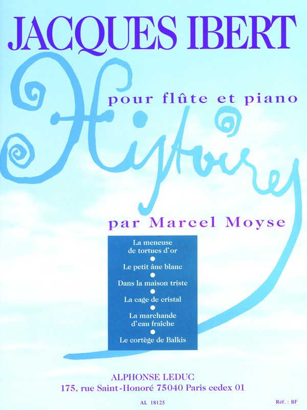 Histoires Recueil (Collection of Stories) (Flute and Piano)