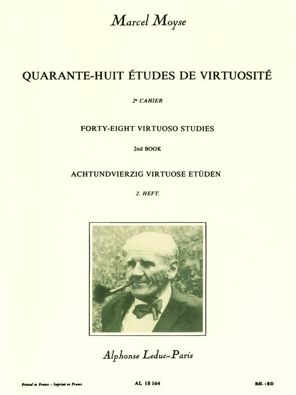 48 Studies of Virtuosity, for Flute (Volume 2)