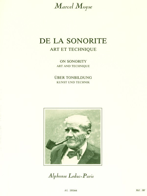 De La Sonorite: Art Et Technique