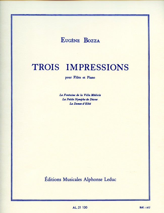 3 Impressions (Flute and Piano)