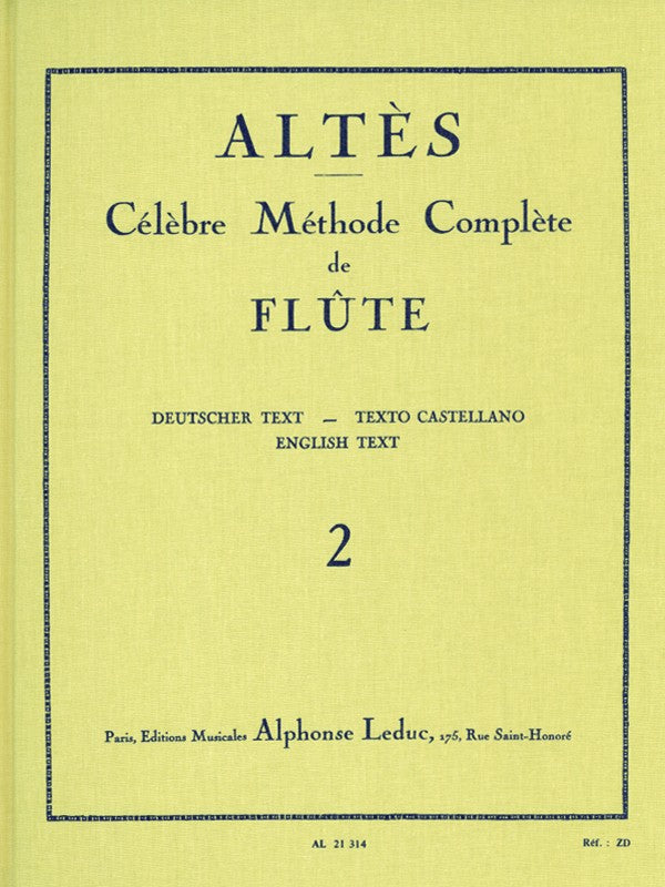 Complete Famous Method for Flute - Volume 2