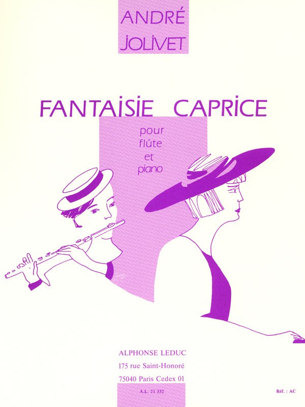 Caprice Fantasy (Flute and Piano)