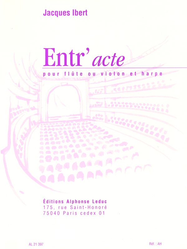 Entr'acte (Flute And Harp)