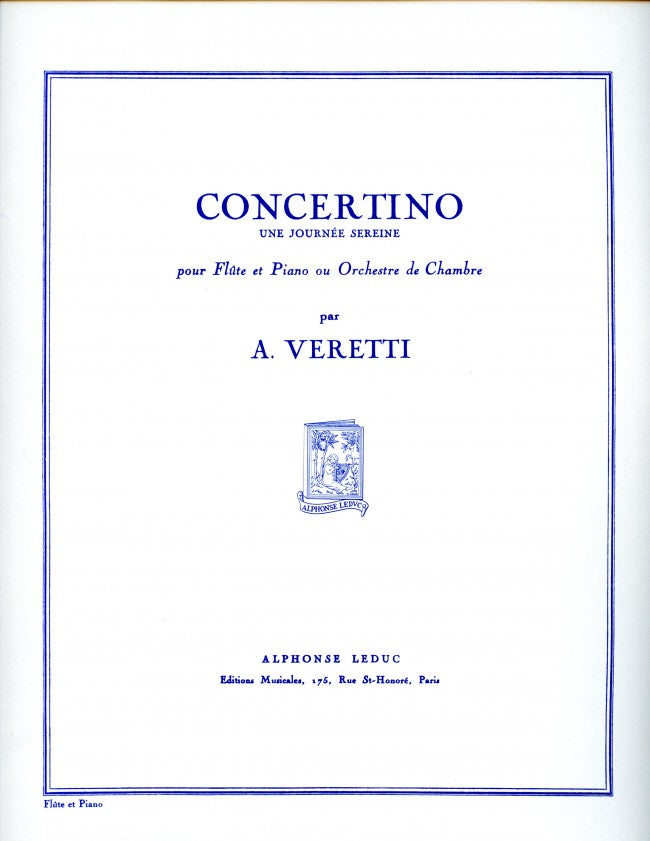 Concertino (Flute and Piano)