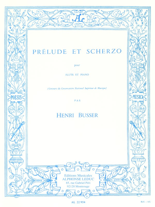 Prelude and Scherzo (Flute and Piano)