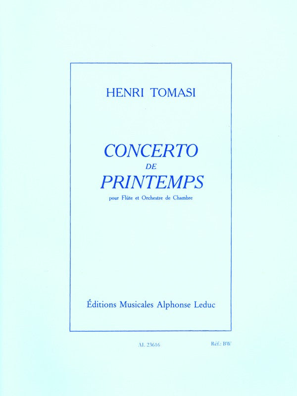 Concerto de Printemps (Flute and Piano)