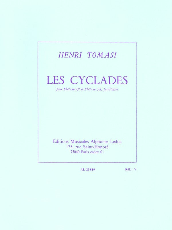 Les Cyclades (Flute Alone)