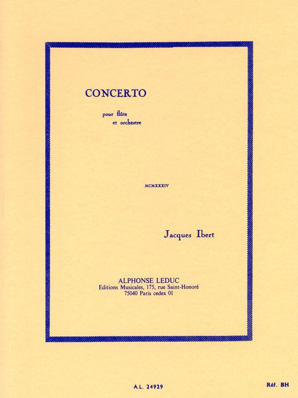 Concerto for Flute and Orchestra (Pocket Score)