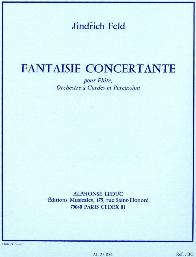 Fantaisie Concertante (Flute and Piano)