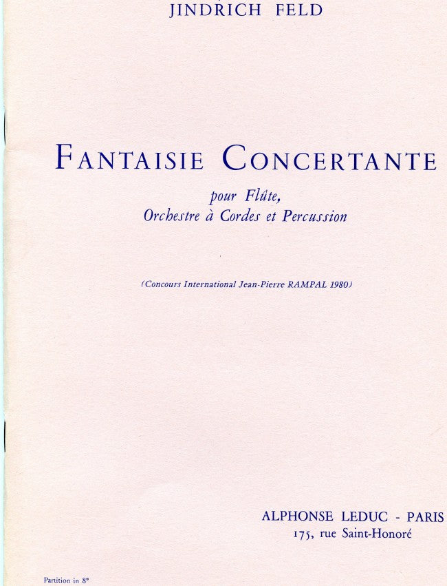 Fantaisie Concertante (Full Score)