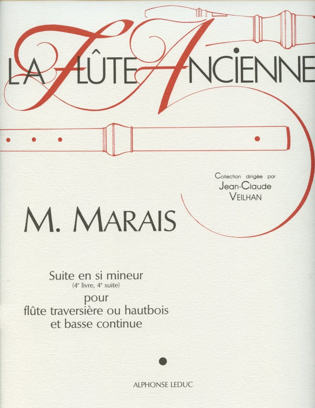 Marin Marais: Suite in B minor (Flute and Piano)