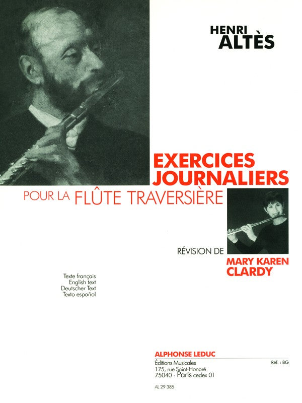 Daily Exercises for the Flute (Methods)