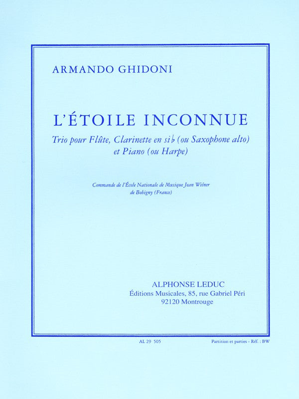 L'Etoile Inconnue (Flute and Clarinet)