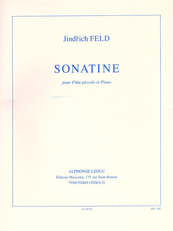 Sonatina (Piccolo and Piano)