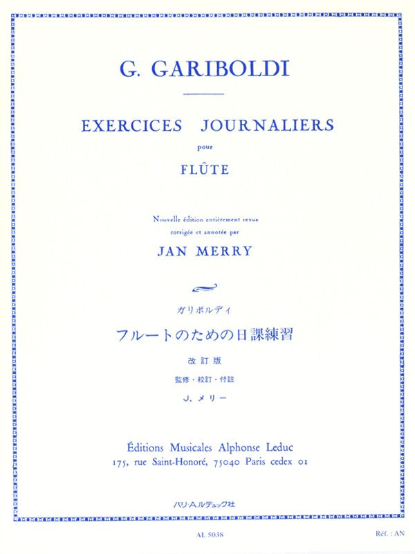 Daily exercises (Flute)