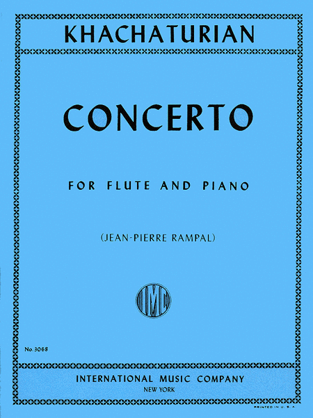 Flute Concerto (originally for Violin) (Flute and Piano)