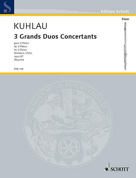 3 Grands Duos Concertants, Op. 87