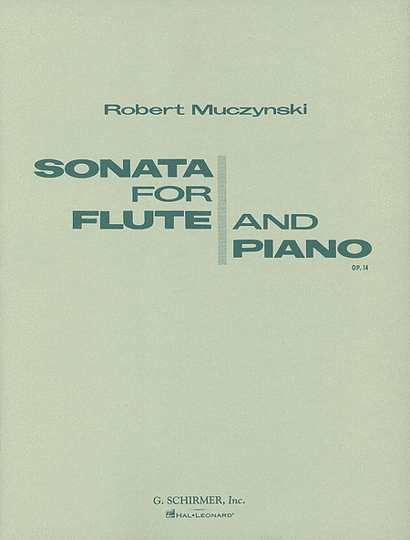 Sonata, Op. 14 (Flute and Piano)